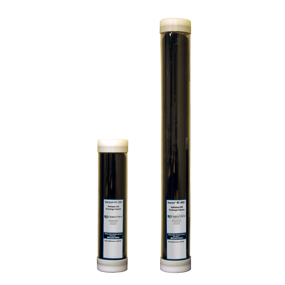 Cation Exchange Resin Columns